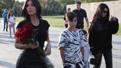 Kim Kardashian en kinderen gedoopt in Armenië
