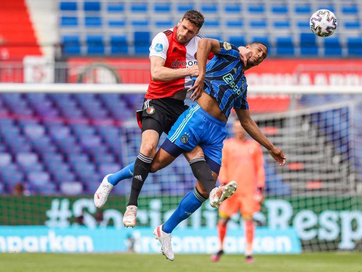 LIVE | Ajax leidt in Klassieker na knullige eigen treffer Feyenoord, Amsterdammers in nieuw tenue