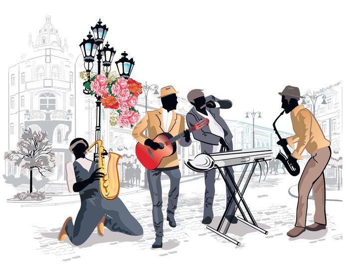 Liefhebbers vragen om meer 'oude jazz'. illustratie ThinkStock