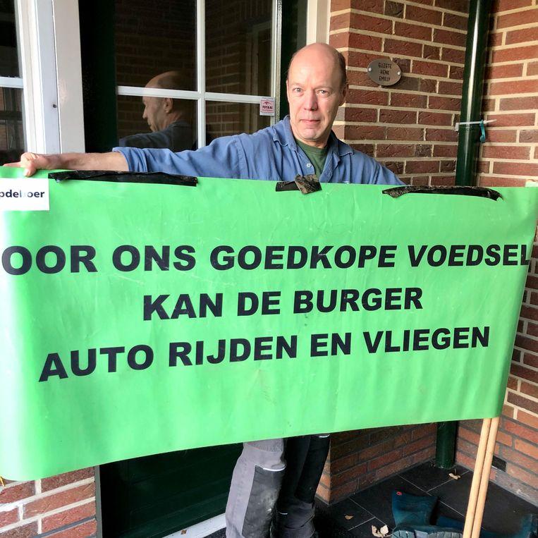 Henk Oonk, klaar voor een nieuwe actie. Beeld Toine Heijmans