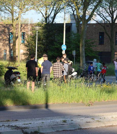Jonge fietser (9) botst met scooter in Ede