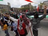 Pro-Palestina protest op stadhuisplein Eindhoven: 'Mijn familie woont daar'