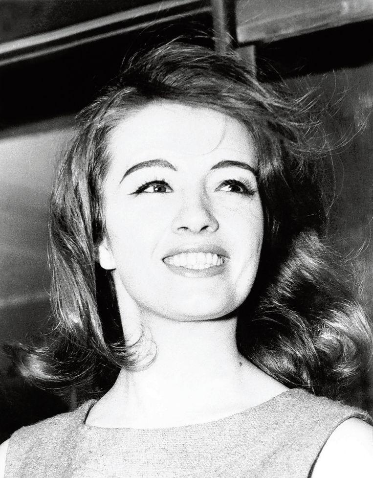 Christine Keeler op een foto uit de jaren zestig. Beeld AFP