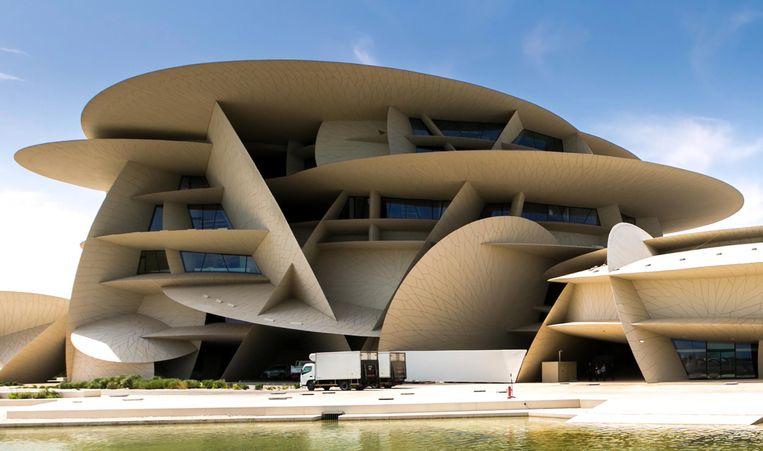 Het Nationaal Museum van Qatar Beeld EPA