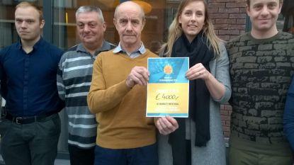 Vader en zoon Luc en Olivier De Bolle zamelen 4.000 euro in voor Schoonderhage