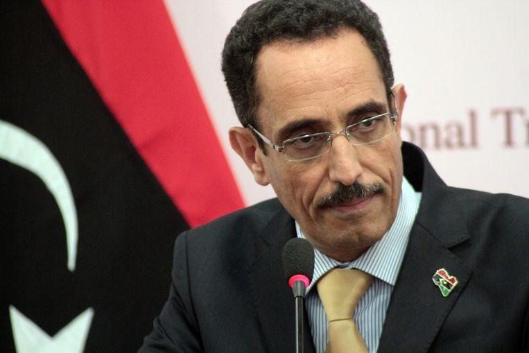 Abdel Hafiz Ghoga Beeld afp