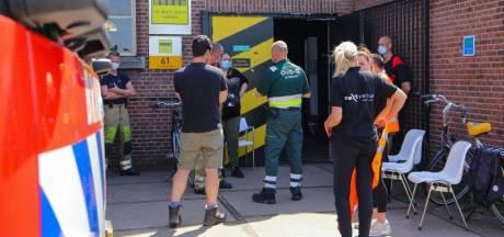 Prikkers op de Wagenwerkplaats krijgen het benauwd en roepen hulp brandweer in
