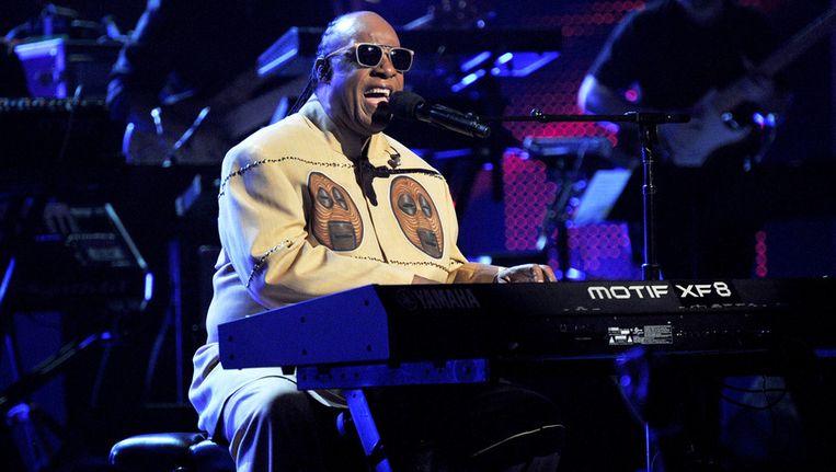 Stevie Wonder weigert nog op te treden in Florida na de vrijspraak in de zaak-Zimmerman. Beeld GETTY