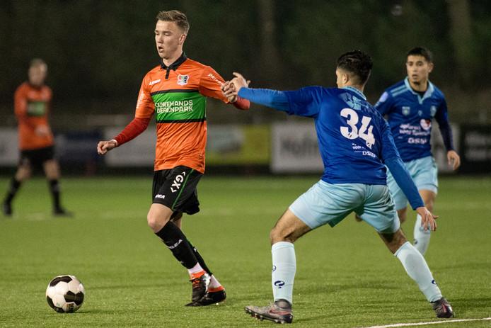 Jong NEC tegen Jong Excelsior.
