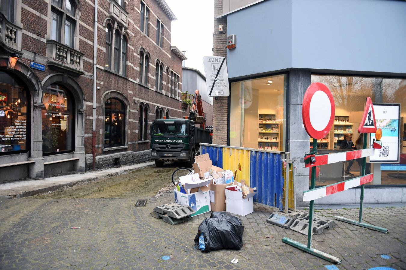 De werken in de Wieringstraat duren nog tot de voorlaatste week van december