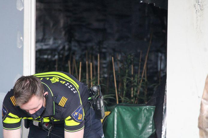 In een bedrijfspand aan de Tjalk in Bodegraven is dinsdag een 53-jarige Alphenaar aangehouden, omdat daar een hennepkwekerij met zo'n 200 hennepplanten werd ontdekt.