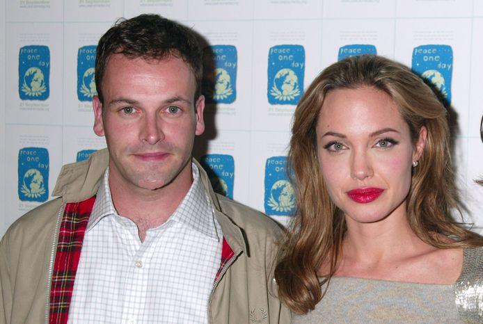 Jonny Lee Miller en Angelina Jolie.