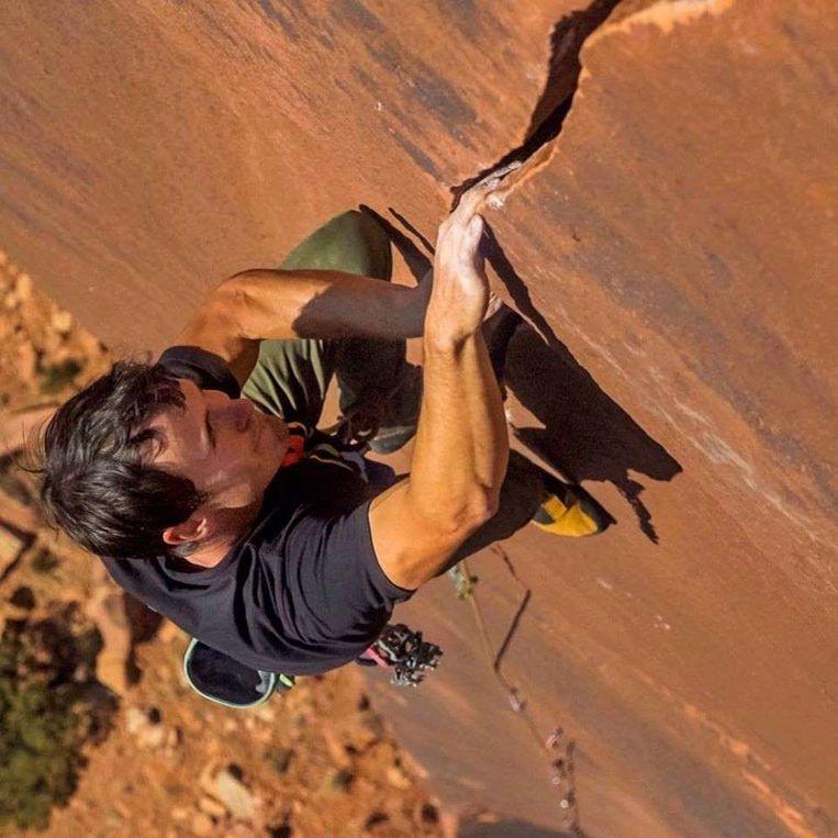 Brad Gobright was een van de beste 'vrij-klimmers' ter wereld.
