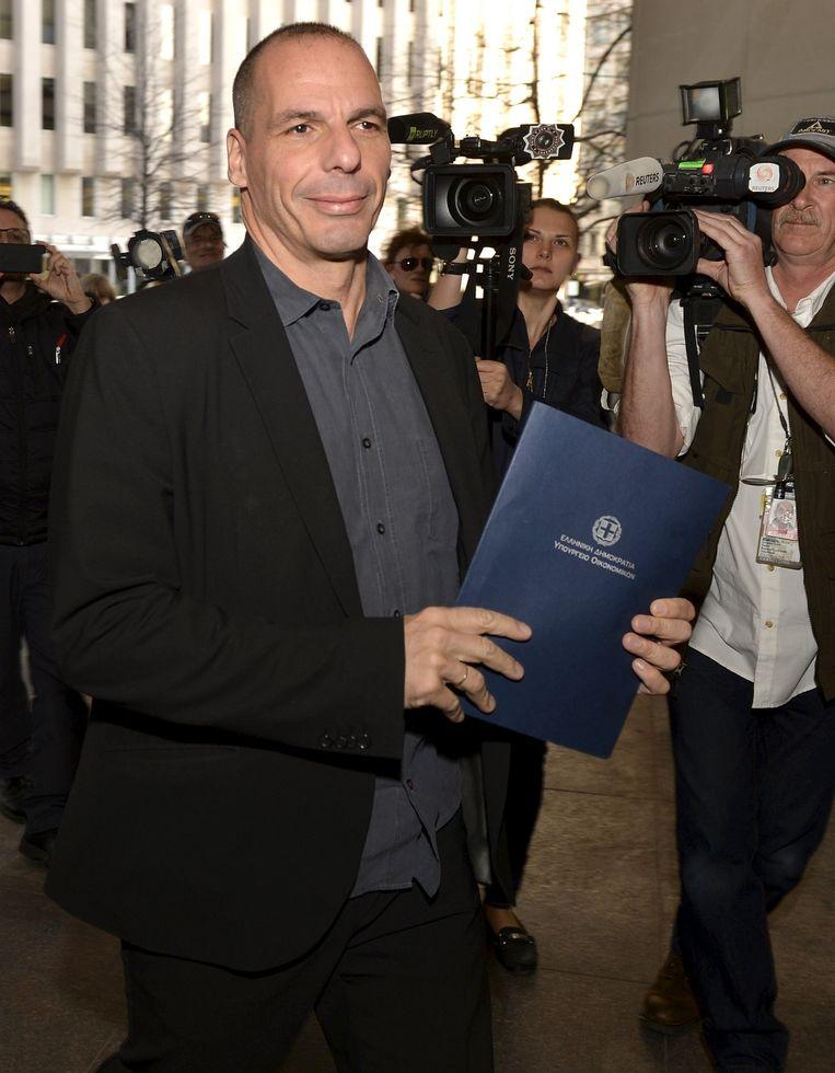 Yanis Varoufakis Beeld reuters