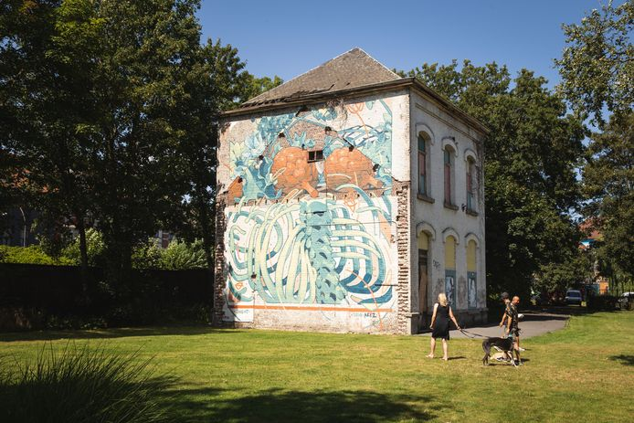 Streetart, Denderlaan, Aryz
