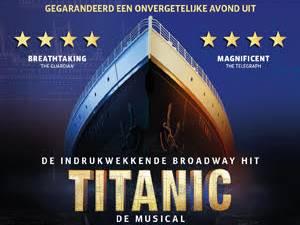 Musical Titanic: bestel hier kaarten