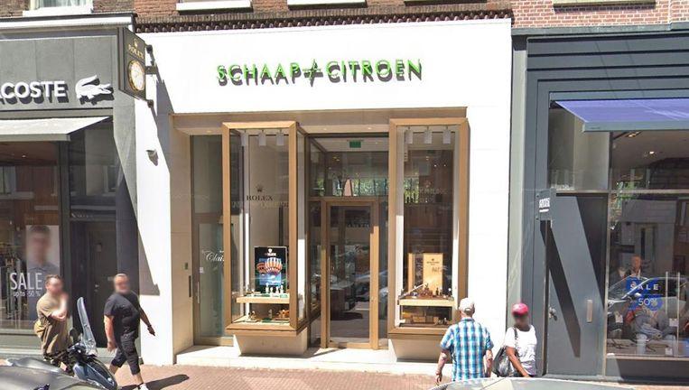 De vestiging van Schaap en Citroen in de P.C. Hooftstraat. Beeld Google Streetview