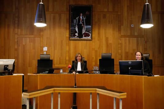 Rechter Groeneveld in de rechtbank van Den Haag