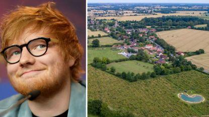 Fameuze 'Sheeranville' is nu 67 miljoen waard, omdat Ed 2 extra huizen kocht tijdens de lockdown