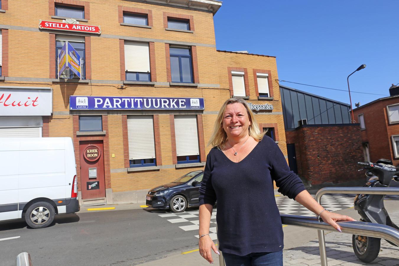 Sylvie Muyldermans wordt vanaf zaterdag de nieuwe cafébazin van 't Partituurke.