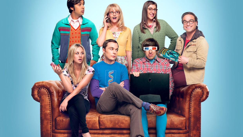 'The Big Bang Theory' Beeld Netflix