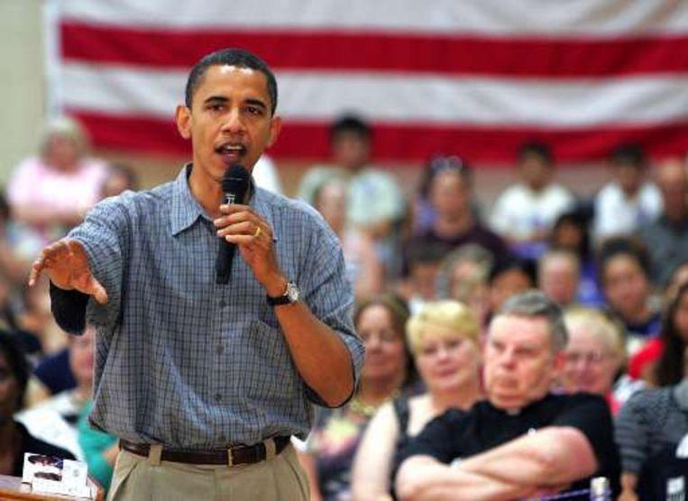 Barack Obama. Beeld UNKNOWN