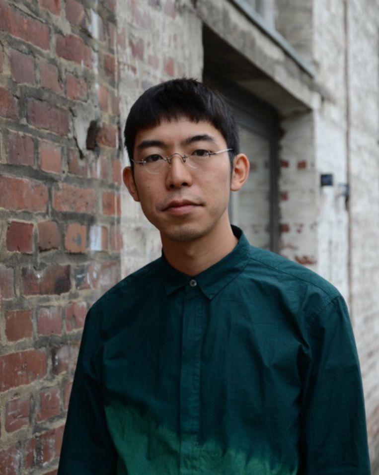 Ontwerper Hiroyuki Murase komt uit het  Arimatsu in Japan, het mekka van shibori. Beeld