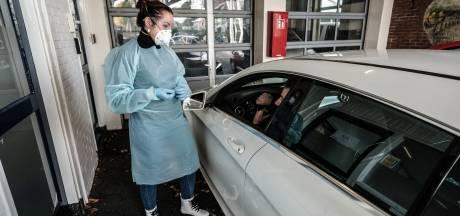 Appje geeft al na kwartier uitslag van coronatest bij Doetinchemse snelteststraat