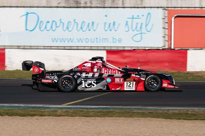 De Norma M20FC van Deldiche Racing, waar Steve Vanbellingen dit weekend in Zolder wil mee schitteren.