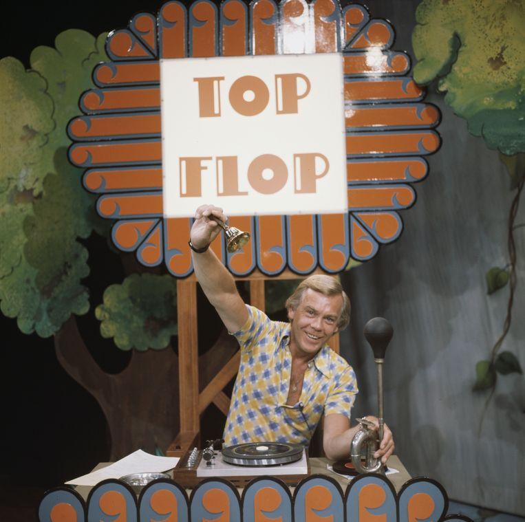 Herman Stok presenteert Top of Flop. Beeld ANP