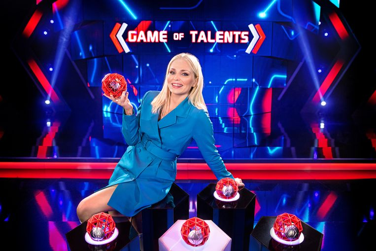 Game of Talents; seizoen 1 vanaf februari 2021 bij VTM. Op de foto: Julie Van den Steen Beeld VTM