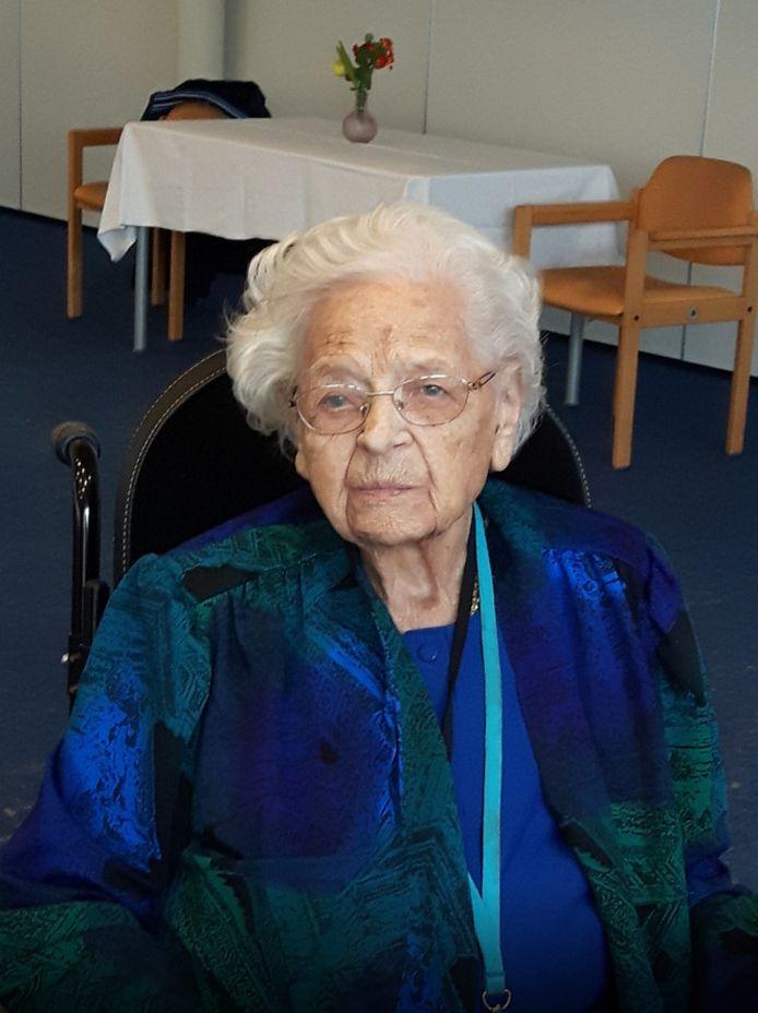 Cornelia Boonstra werd 110 jaar oud.