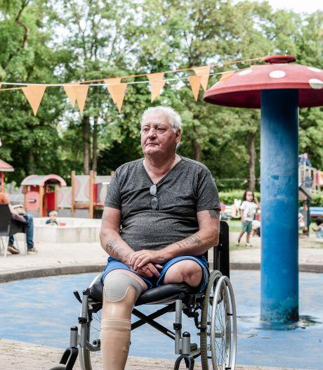 John (71) verloor zijn benen: 'Pas als het minder gaat, besef je hoe kostbaar je gezondheid is'