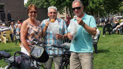 Met 3.159 fietsers door drie provincies