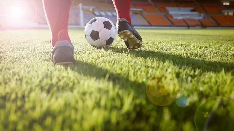 Voetbal Vlaanderen streeft binnen haar good governance-beleid naar zo proper mogelijk voetbal, ook in de lagere reeksen. Beeld thinkstock