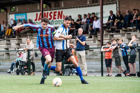 OVC'85 en ESA - hier op sportpark De Bilderberg - gaan zich mogelijk meten met de Arnhemse zondag-derdeklassers Eldenia, SML en VDZ.