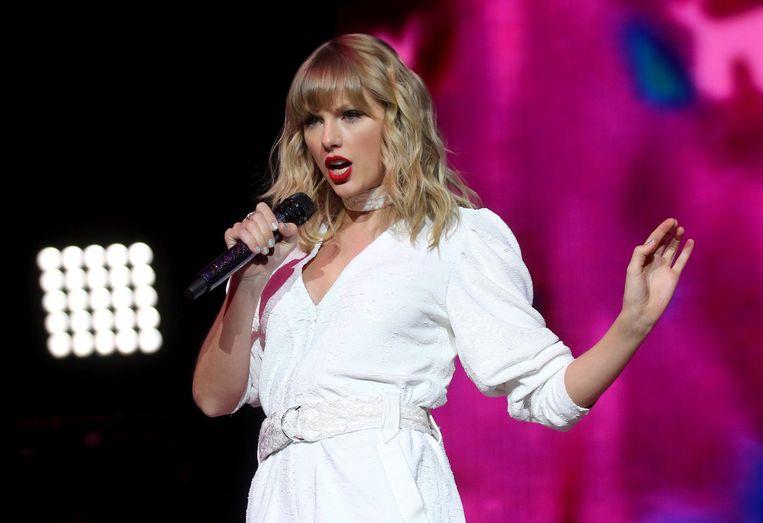 Taylor Swift in 2019. Beeld Photo News