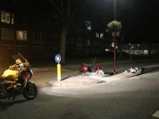 Scooterrijders botsen op elkaar in Nieuwegein, opgewonden omstander opgepakt