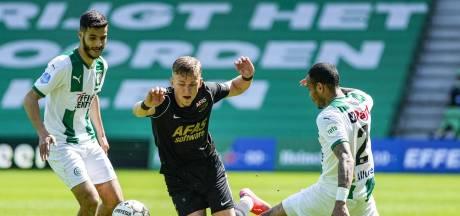 Gelijkspel in Groningen zware teleurstelling voor AZ