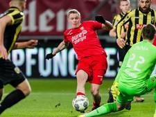 FC Twente kan zege geen vervolg geven tegen Vitesse