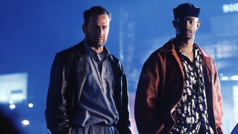 Bruce Willis en Damon Wayans in The Last Boy Scout van Tony Scott Beeld