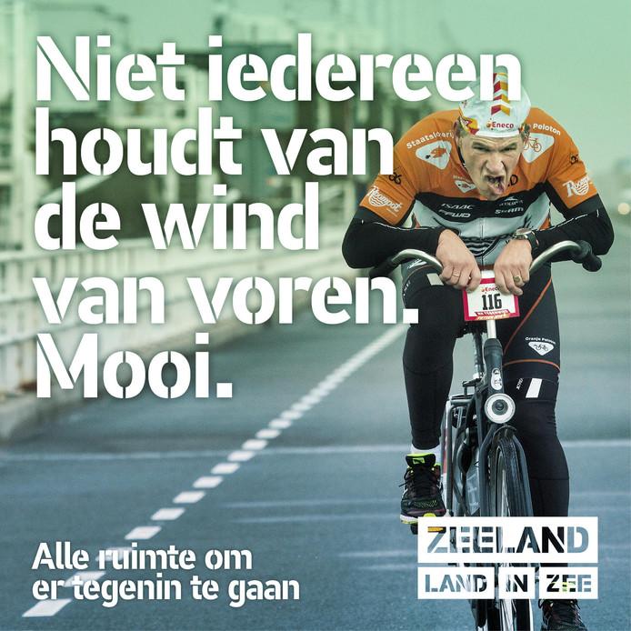 Beeld uit de imagocampagne van Superrebel voor Zeeland