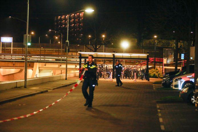 Rond station Dordrecht-Zuid zou geschoten zijn.