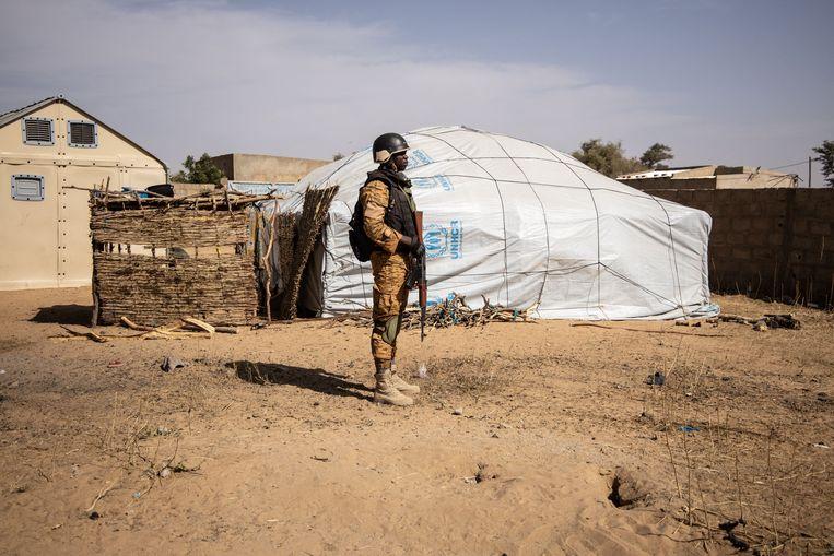 Burkina Faso, een van de meer stabielere landen in West-Afrika, wordt sinds 2015 geregeld getroffen door aanvallen van islamitische extremisten. Beeld AFP