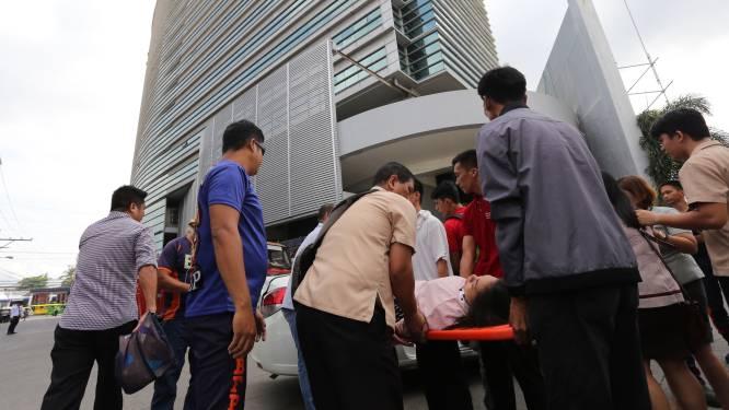 Filipijnen opnieuw opgeschrikt door zware aardbeving: gebouwen ingestort, meerdere gewonden en minstens 1 dode