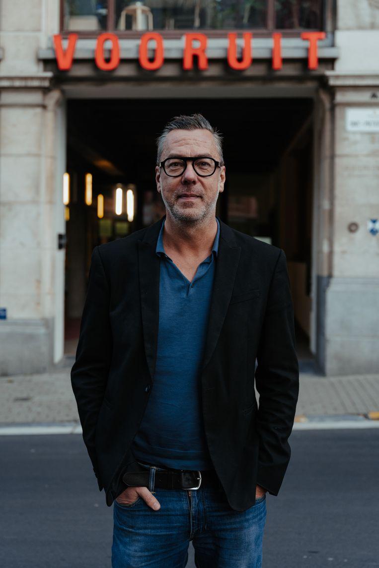 Franky Devos, directeur van Kunstencentrum Voo?uit: 'Bij muzikanten is er de nood en de goesting om te spelen.' Beeld Damon De Backer