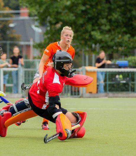 Van Duivenboden houdt hockeysters NMHC uit Nijmegen bij haar rentree meteen op de been tegen Were Di: 1-1