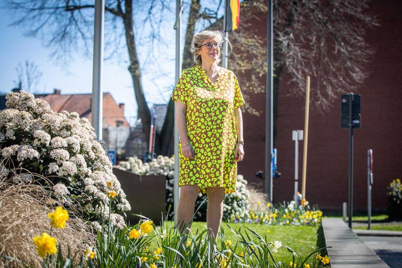 De Truiense burgemeester Veerle Heeren (CD&V). Beeld Mine Dalemans