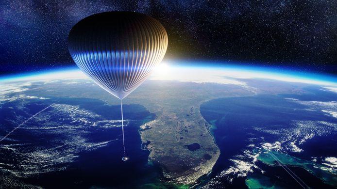 Illustratie van hoe de ruimtecapsule er zal uitzien.