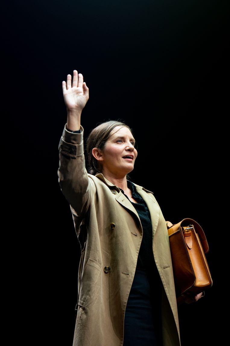 Marleen Scholten in La codista  Beeld Luca Chiaudano